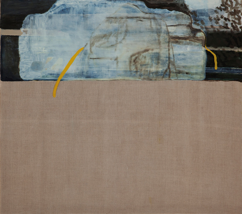 Teaser | oil and gelatine on linen | 150 x 165cm | 2014
