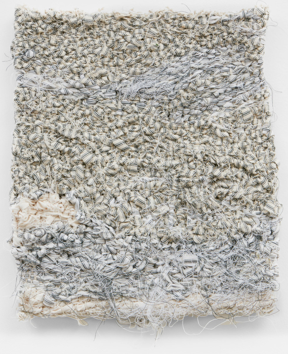 Coalescene II | approx. 34 x 38cm | found woven fabrics  | 2015