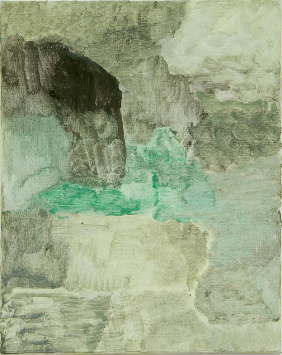 Untitled | 100 x 125cm | oil on linen | 2015